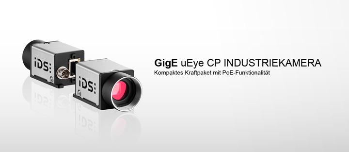 ---IDS Industriekamera GigE uEye CP, Gigabit Ethernet Kamera mit Power over Ethernet (PoE)