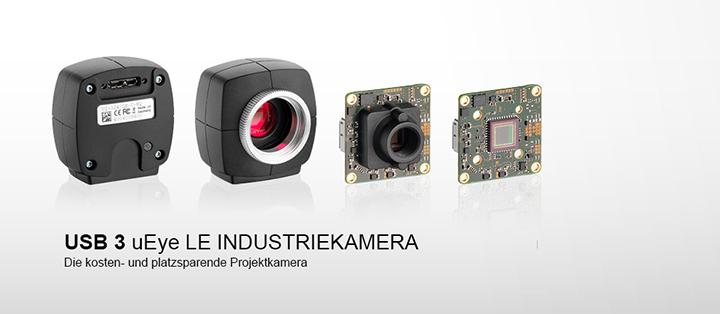 ---IDS Industriekamera USB 3 uEye LE, hohe Auflösung, CMOS, unglaublich schnell,  verfügbar als Gehäuse- und Platinenversion