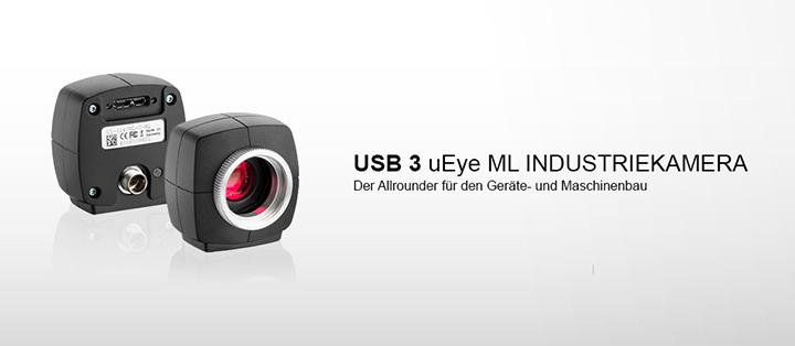 ---IDS Industriekamera USB 3 uEye ML, mit CMOS Sensoren, hohe Auflösung, super schnell, sehr kompakt, leicht und robust