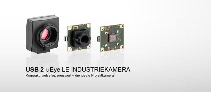 ---IDS Industriekamera USB 2 uEye LE, CMOS Kamera mit C/CS Mount oder M12/M14 Objektivhalter