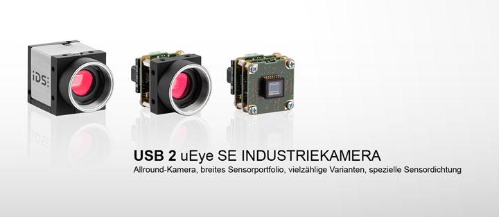---IDS Industriekamera USB 2 uEye SE, CMOS Kamera als Gehäuse Modell und Boardlevel Modell
