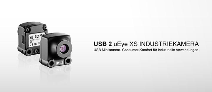 ---IDS Industriekamera USB 2 uEye XS, 5 Megapixel CMOS Kamera mit Autofokus und digitalem Zoom, so klein, so einfach, so genial