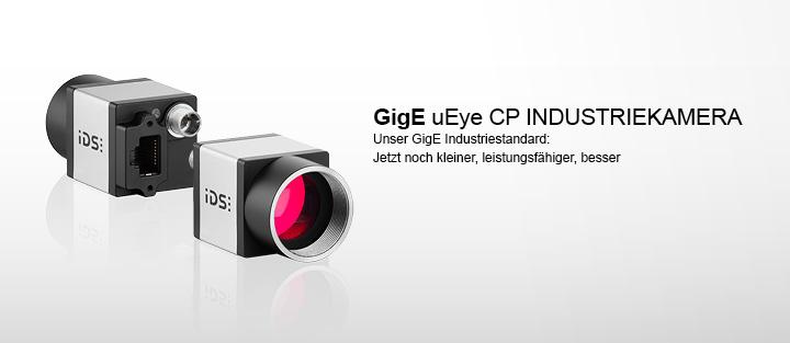 ---Die neue GigE Industriekamera - Unser GigE Industriestandard: Jetzt noch kleiner, leistungsfähiger, besser
