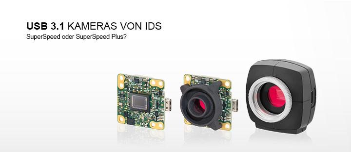 ---USB 3.1 cameras von IDS mit USB Type-C Anschluss