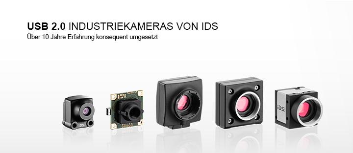 ---IDS uEye USB 2.0 Kameras, CMOS Industriekamera, Gehäusevariante und Boardlevelvariante, vielseitig einsetzbar