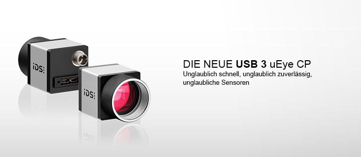 ---IDS CMOS Kamera, uEye Industriekamera USB 3.0 CP, hochauflösend, hochempfindlich, unerhört schnell