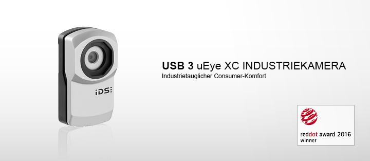 ---IDS Industriekamera USB 3 uEye XC, Autofokus, Gegenlichtkorrektur, 16x Digitalzoom, 13 Megapixel, CMOS