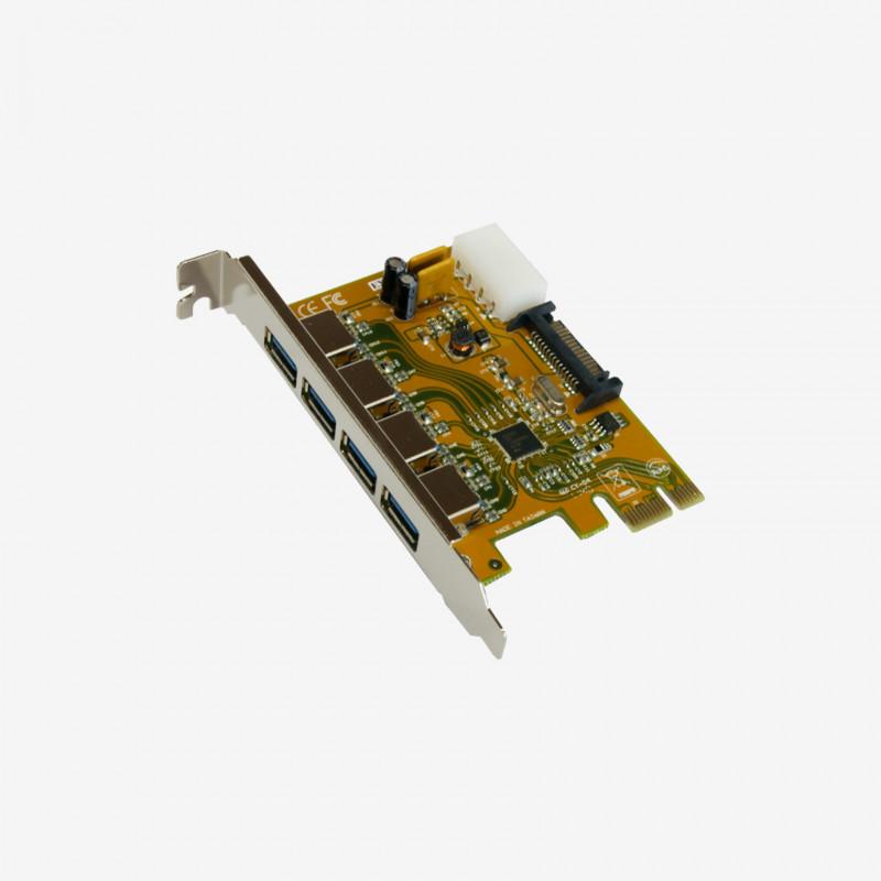USB 3.0 PCI-Express-Karte, 4 Ports (EX-11094)