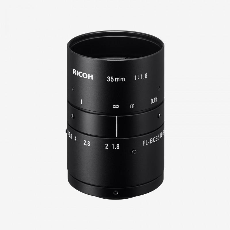 """Objektiv, RICOH, FL-BC3518-9M, 35 mm, 1"""""""