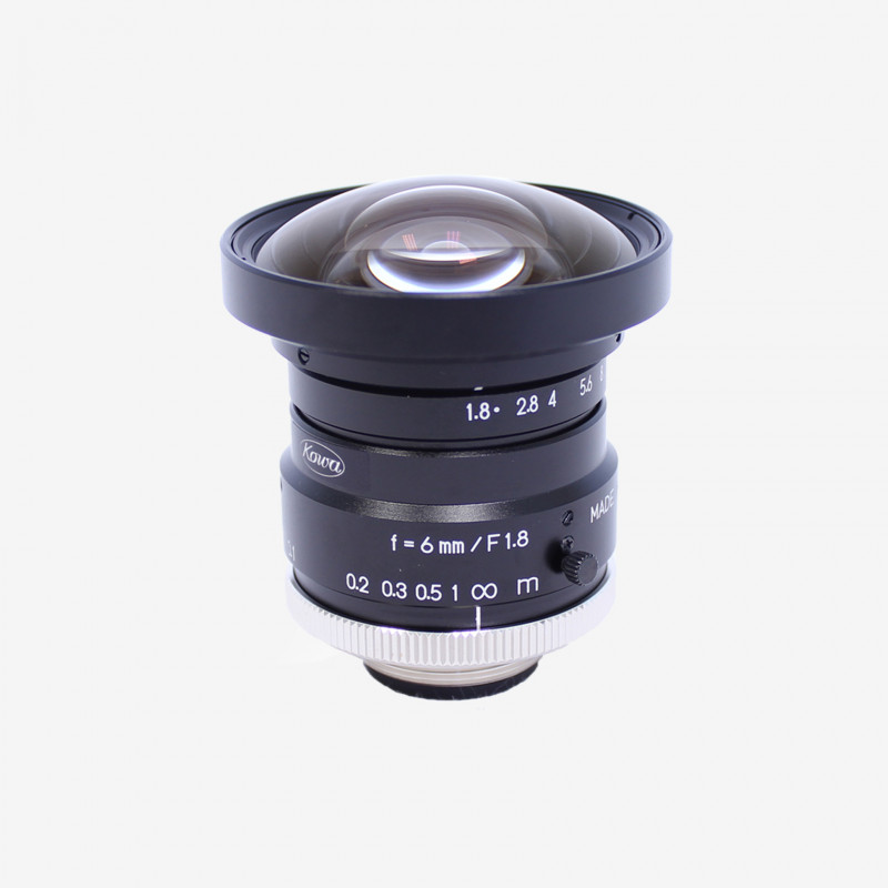 "Objektiv, Kowa, LM6HC, 6 mm, 1"""