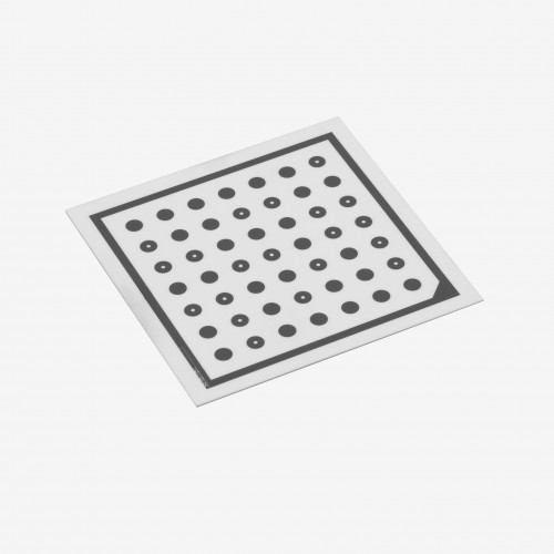 Ensenso Kalibrierplatte, 50 mm, Raster 5,0 mm