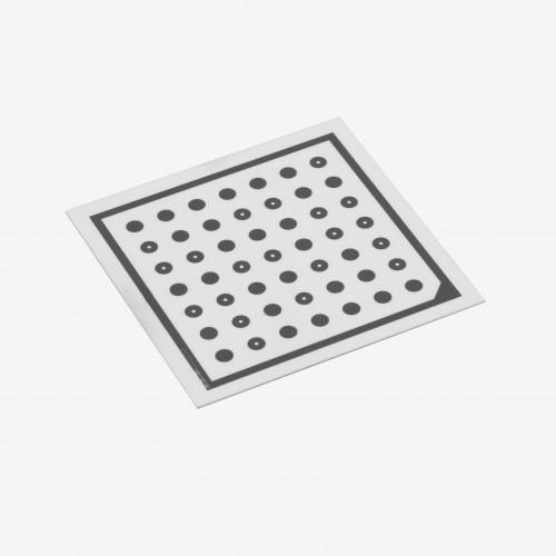 Ensenso Kalibrierplatte, 70 mm, Raster 7,5 mm