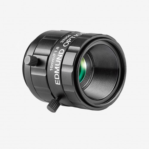 "Objektiv, Edmund, TECHSPEC UC-Series, 16 mm, 1/2"" C-Mount. 1/1.8"". 16 mm. Edmund. AE00180"