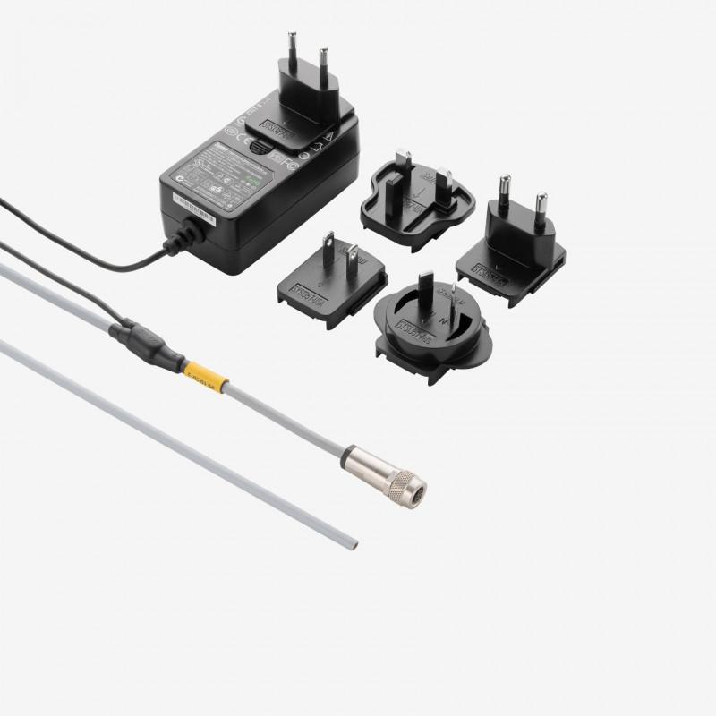 I/O + Stromversorgung, Standard-Y-Kabel, Weltnetzteil, gerade,  1,8 m/5 m