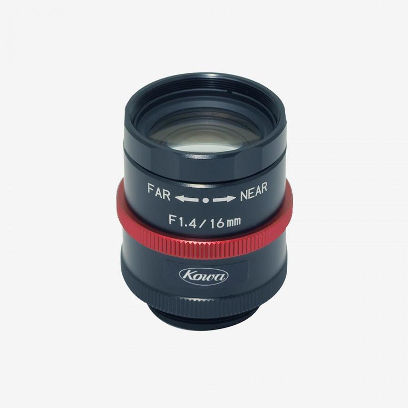 "Lens, Kowa, LM16JCM-WP, 16 mm, 2/3"""