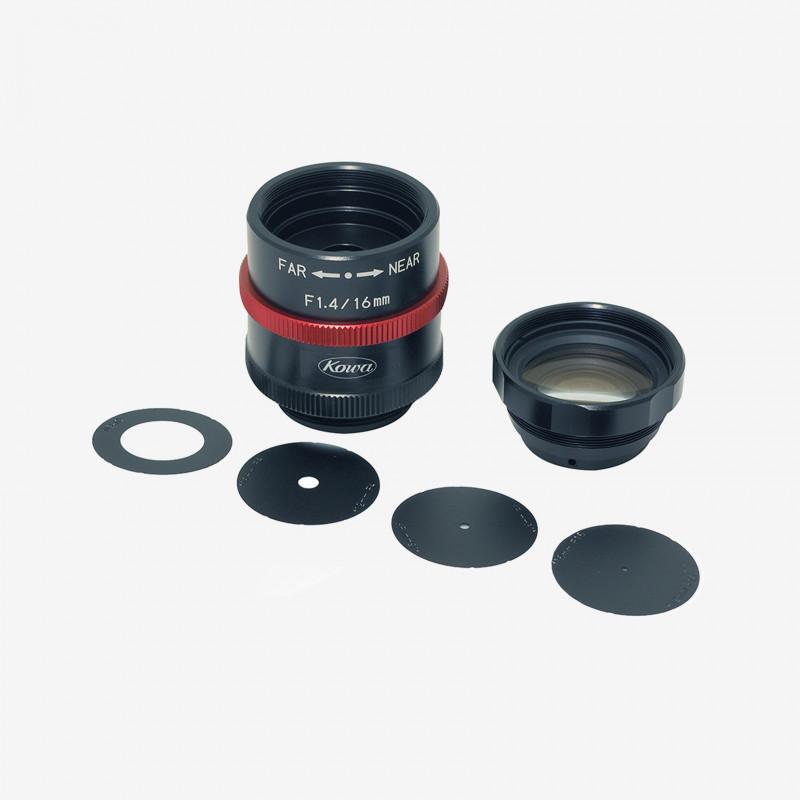 "Objektiv, Kowa, LM16JCM-WP, 16 mm, 2/3"""