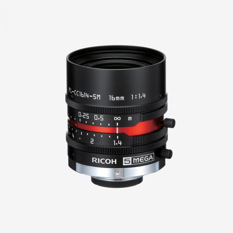 """Objektiv, RICOH, FL-CC1614-5M, 16 mm, 2/3"""""""